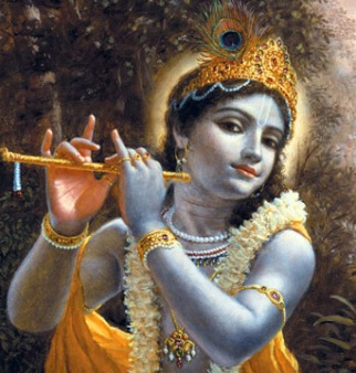 A picture of Krishna