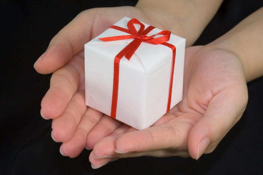 The meaning and symbolism behind gifts- Ralph WaldoEmerson