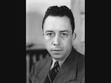 Albert Camus, author of The Fall, The Stranger, and The Myth of Sisyphus