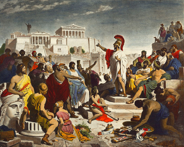 Athens in relation to culture- Russell's History of Western Philosophy, chapter by chapter-(7)